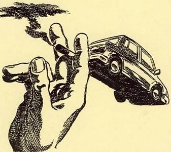 Araba ve egzoz gazı