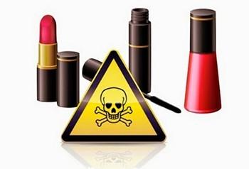 Kozmetik ürünlerin içeriği.