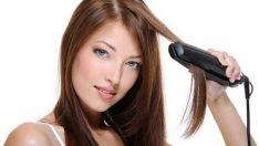 Saç Düzleştiricilerin  Zararları