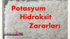 Potasyum Hidroksit Zararları