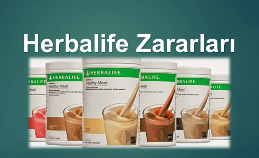 Photo of Herbalife Zararları